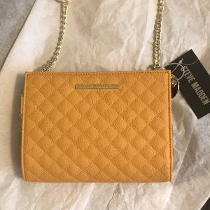 Steve Madden Quilted Wallet on String